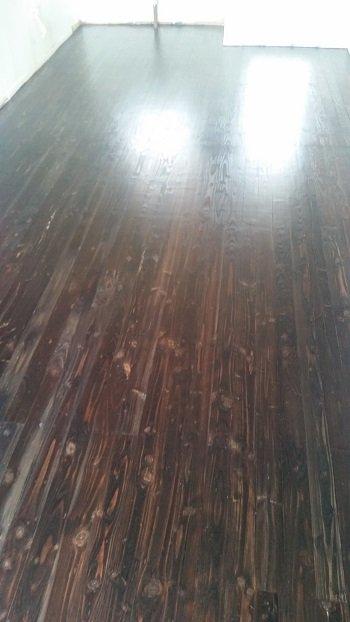 After varnish